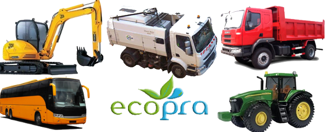 ecopra pantone kit for trucks, bus