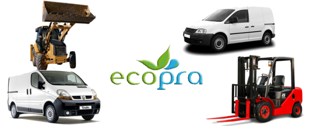 ecopra pantone kit for commercial vehicle
